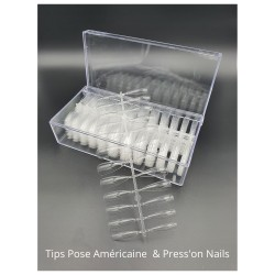 Tips Pose Américaine ou Press'on Nails (box de 500)